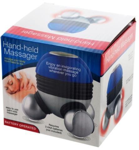 Bulk Buys Personal Care Invigorating Vibration Handheld Massager by bulk buys