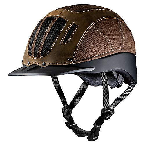 Troxel Sierra Helmet, Brown, Medium