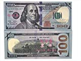 Motion Picture Money Prop Money Full Print 2 Side