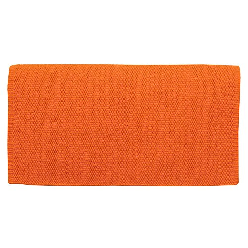 Mayatex San Juan NZ Wool Saddle Blanket Orange