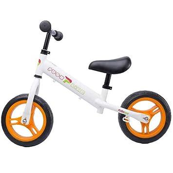LIWORD Ensanchamiento De Neumáticos, Coche Balance para Niños, Caminante con Ruedas, Bicicleta Sin Pedales,Yellow: Amazon.es: Deportes y aire libre