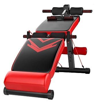 GFFTYX Banco de pesas de entrenamiento ajustable Mesa de asiento ...
