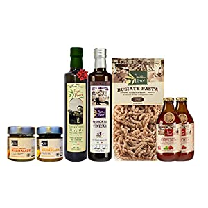 Gut Health Shop 514fkb1u6HL._SS300_ Papa Vince Food Gift Basket - made by our family in Sicily. Healthy Basket for Mother's Day, Birthdays, Family Parties…