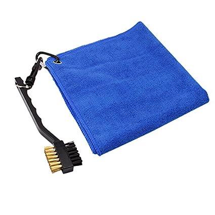 Toalla de golf y conjunto de cepillo club, NATUCE microfibra ligero de secado rápido compacto