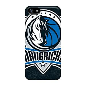 Excellent Iphone 5/5s Case Tpu Cover Back Skin Protector Dallas Mavericks