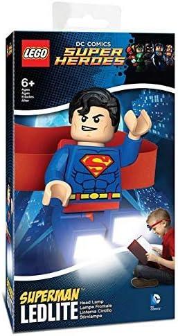 LEGO DC SUPERMAN HEAD LAMP