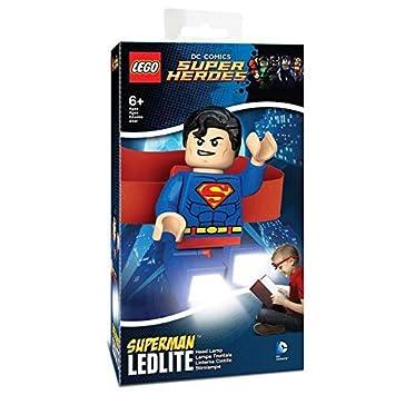 Led Super Lampe Lg0he07 Frontale Lego Héros Superman tshQrd
