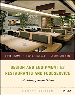 Design And Equipment For Restaurants And Foodservice A Management