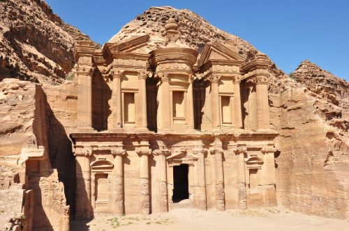 Petra Jordan Glossy Poster Picture Photo arabic monument architecture arab