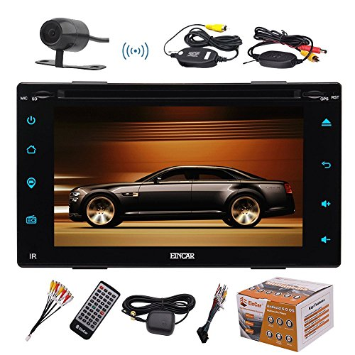 Double DIN Touchscreen HeadUnit Bluetooth WIRELESS product image