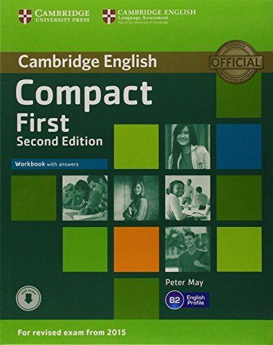 Compact First Workbook with Answers with Audio 2nd edition by May, Peter 2014 Paperback: Amazon.es: May, Peter: Libros