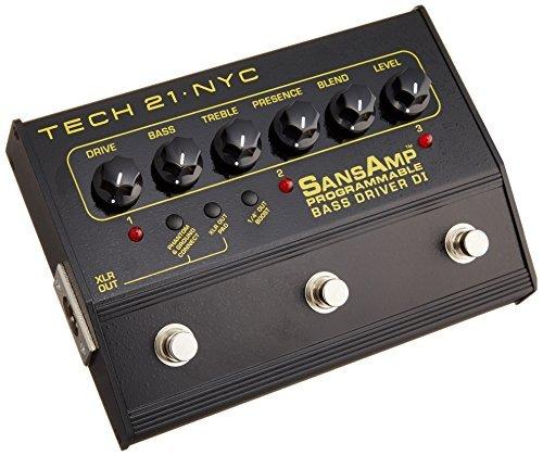 Tech 21 PBDR SansAmp Programmable Bass Driver DI ()