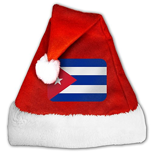 ODLS7 Cuba Christmas Gifts Hats Santa Hats Fashion Holiday Home Party Decorations For Kids Adult (Cuba Christmas Decorations)