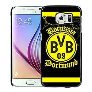 Fashionable Custom Designed Skin Case For Samsung Galaxy S6 With Dortmund Black Phone Case 2
