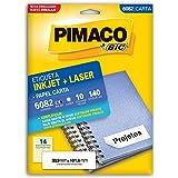 Etiquetas Adesivas 6082 33,9x101,6mm Pimaco