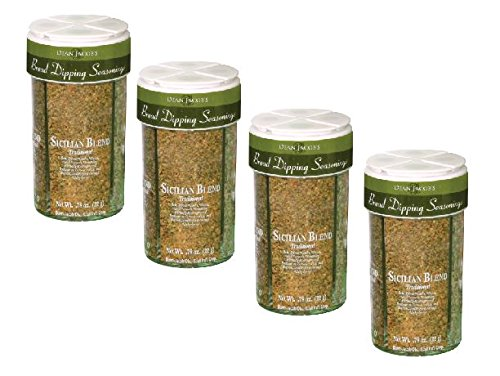 Dean Jacobs Bread Dipping Seasonings, Large, 4.0-Ounce (Pack of 4) by Dean Jacob's