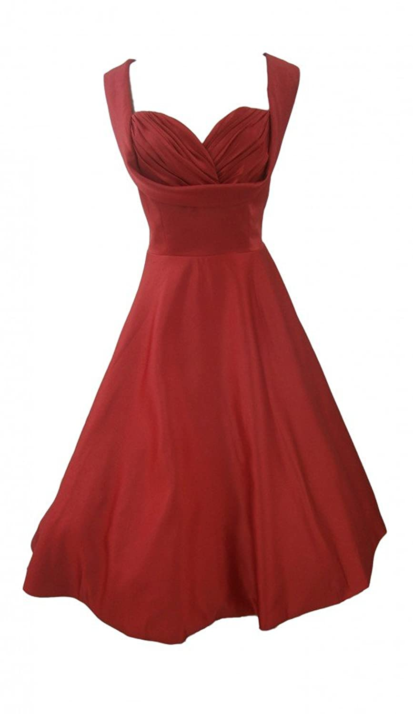 50s Fifties ROCKABILLY Dress with Petticoat-Sonja