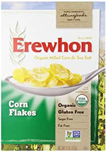 Erewhon Cereal, Organic, Corn Flakes, Gluten Free, 11 Ounce
