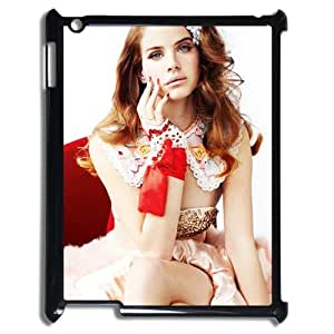 Lana Del Rey iPad 2 3 4 Case Lana Del Rey Music Theme Fashion iPad Case Cover