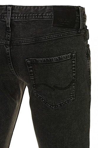 JACK & JONES - Jeans - Homme Gris Gris -  Gris - W36/L34