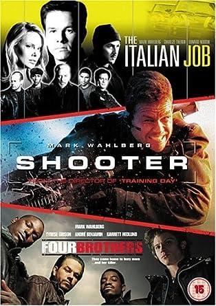 Shooterthe Italian Jobfour Brothers Dvd Amazoncouk Mark