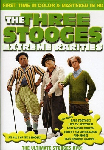 The Three Stooges: Extreme Rarities - In COLOR!