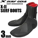 X SURF GEAR エックスサーフギア サーフブーツ X-II 3mm ブーツ スプリット トイ ブーツ SPLIT TOE BOOTS サーフィン用ブーツ サーフィンブーツ サーフィン用