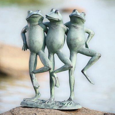 SPI Home 33430 Dancing Frog Trio Sculpture by SPI Home