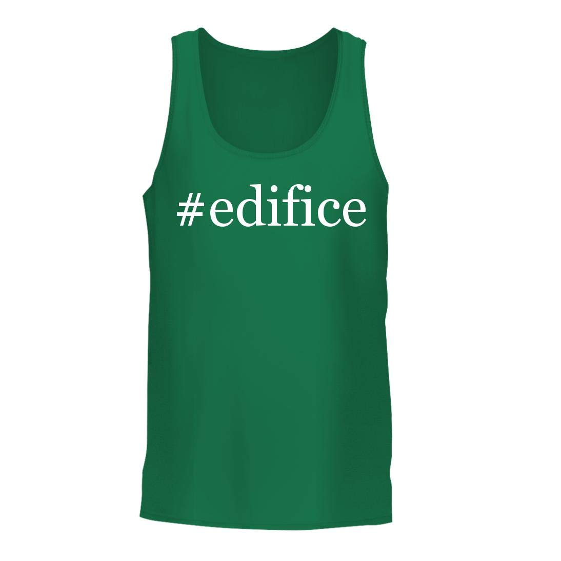 #Edifice - A Nice Hashtag Men's Tank Top, Green, Large by Shirt Me Up