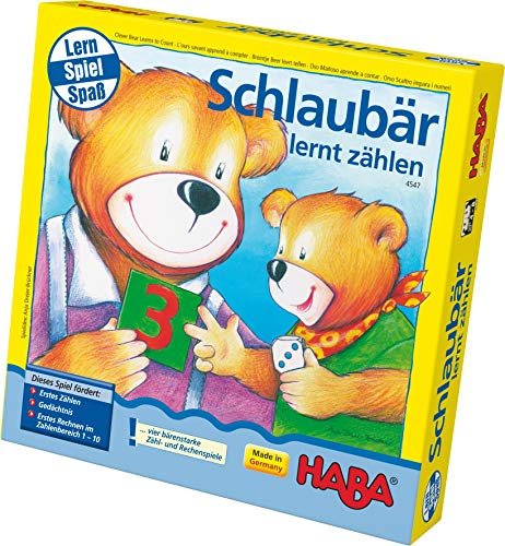 HABA Clever Bear Learns To Count Game (Haba Bear)