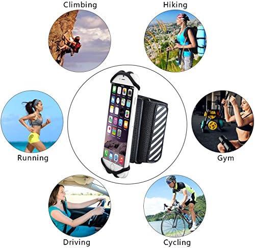 [해외]TFY Wristband Phone Holder for 4.5 ? 6 inch iPhones and Other Phones / TFY Wristband Phone Holder for 4.5 ? 6 inch iPhones and Other Phones