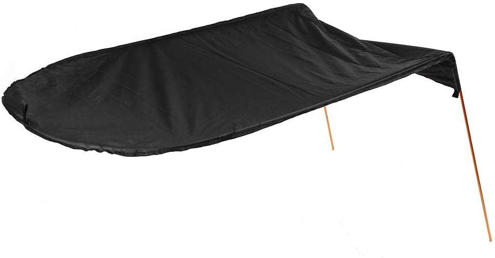 MOOCY Kayak Boat Canoe Sun Shade Canopy for Single Person with Storage Bag