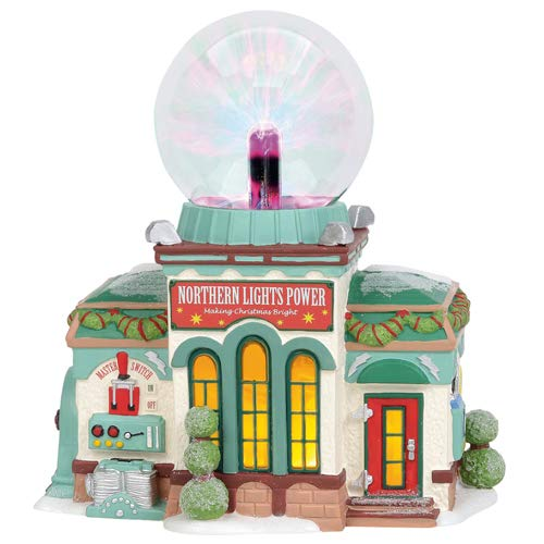 Department 56 North Pole Series Northern Lights Power Department 56 North Pole Series