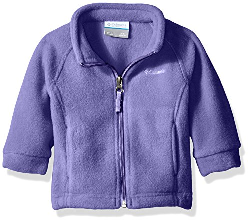 Columbia Baby Girls' Benton Springs Fleece Jacket, Hot Coral, 12-18 Months