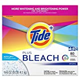 Tide with Bleach Alternative Original Scent Powder Laundry Detergent, 144 Ounce - 2 per case.