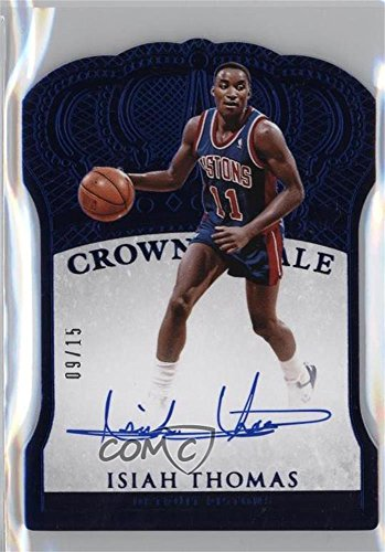 Isiah Thomas Basketball - Isiah Thomas #9/15 (Basketball Card) 2015-16 Panini Preferred - [Base] - Blue #166