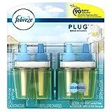 Febreze Plug Air Freshener Refills Bora Bora Waters (2 Count, 52 Ml)