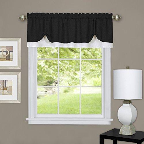 Achim Home Furnishings Harvard Pair Window Curtain Tier, 57