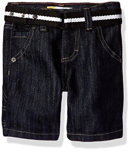 Jean Shorts Belted - LEE Boys' Little Belted Denim Short, Blue Book, 3T