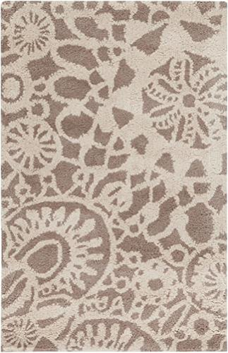 Surya Kate Spain Alhambra ALH-5000 Hand Tufted 100-Percent New Zealand Wool Floral and Paisley Accent Rug, 2-Feet by 3-Feet by Surya
