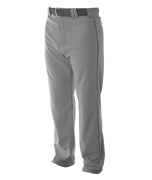 8a2ab1671fb Amazon.com  A4 Men s Pro-Style Open Bottom Baseball Pant  Sports ...