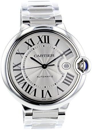 K C Lujo hombres de Ballon Bleu De Modelo cc8028 reloj de los hombres de acero inoxidable reloj de pulsera: Amazon.es: Relojes