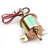 Bomba de combustible POFET HEP-02A de gasolina diésel de baja presión eléctrica de 12 V