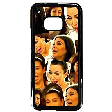 sneakers for cheap 33299 a686a Kim Kardashian Ugly Crying Face Collage Black Phone Case For HTC M9 ...