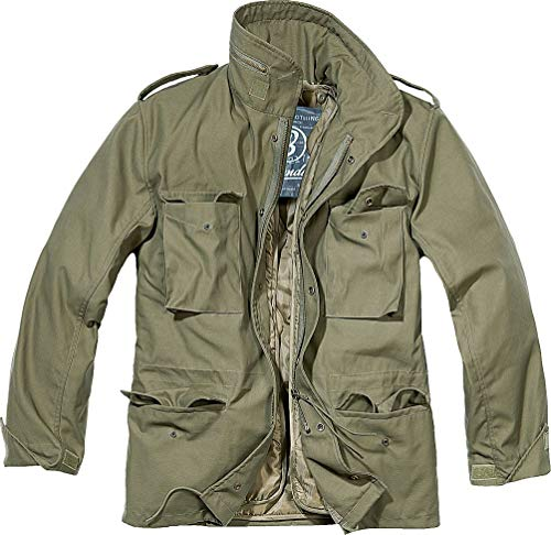Brandit Men's M-65 Classic Jacket Olive Size L (Best M65 Field Jacket)