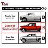 TAC Side Steps Running Boards Compatible with