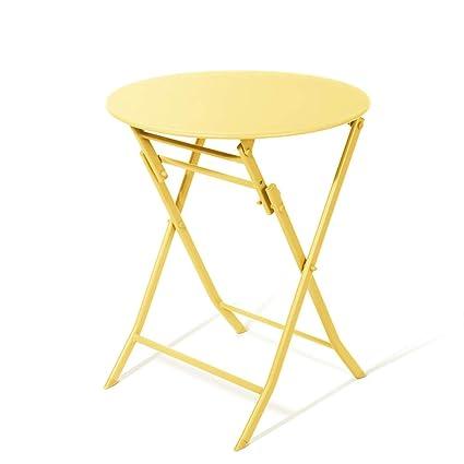 Ajs Petite Table En Fer Petite Table Carrée Pliante