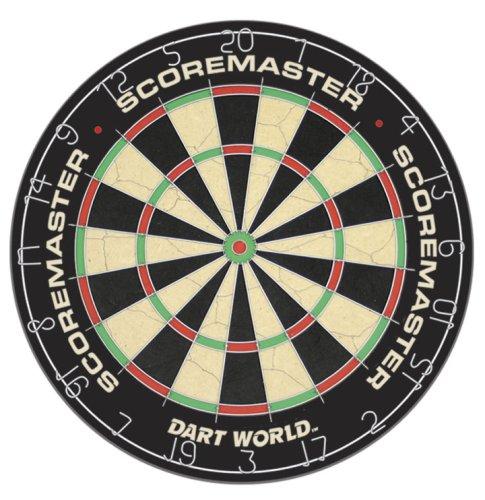 49527 scoremaster bristle dartboard