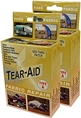 """RUBBER TEAR AID TYPE A 6/"""" X PLASTICS AND MORE MULTIPLE SIZES FOR FABRICS"""
