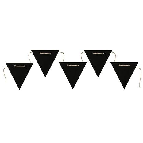 Santex 5134 - 11, Banderole triángulo pizarra negra: Amazon ...